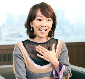 フリーアナウンサー 木佐彩子さん