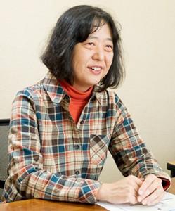 全国カヤネズミ・ネットワーク代表 畠佐代子さん
