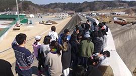 公文の子どもたちと留学生による東北被災地訪問