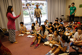 English Immersion Campの様子