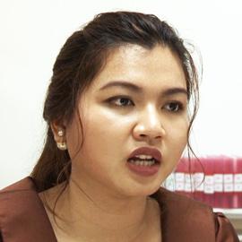 カンボジア王国に公文式教室開設 ピセイ先生