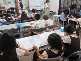 児童養護施設でのKUMON-飛鳥学院