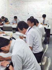 就労移行支援施設での学習風景
