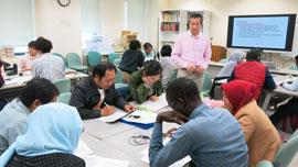 広島大学 教育開発国際協力研究センター長 吉田和浩先生
