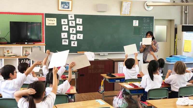 横須賀学院小学校の取り組み