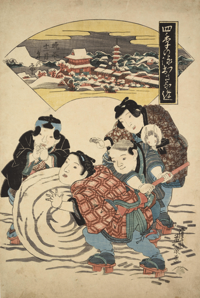 浮世絵から見える江戸時代の人々「神無月」